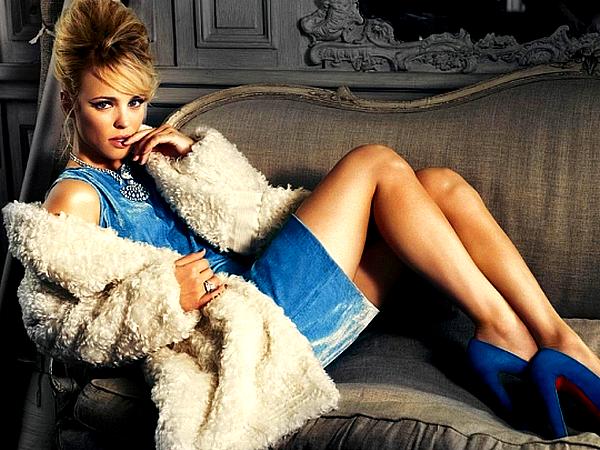 """. En 2010, Rachel avait réalisé un magnifique Photoshoot pour le magazine """"InStyle"""""""