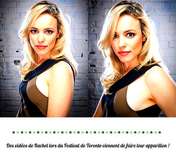 """. Découvrez des portraits de Rachel pour le magazine """"The Hollywood Reporter"""""""