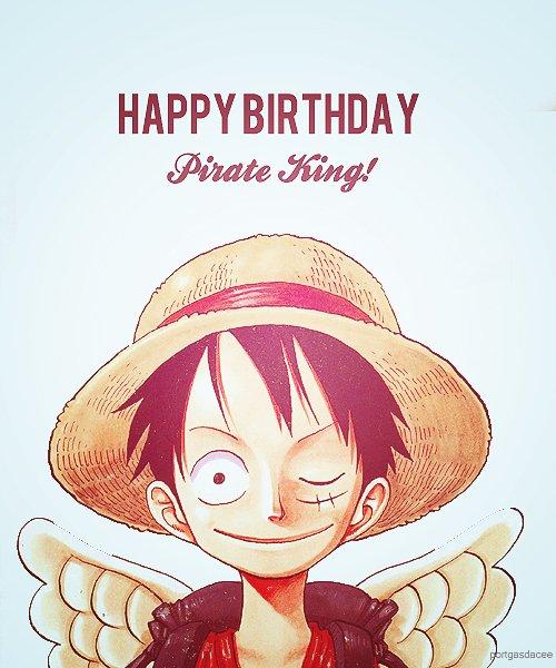 Bon anniversaire Luffy
