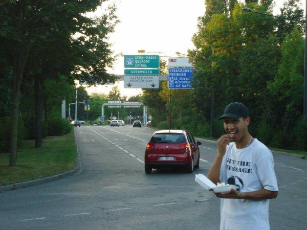 à Mulhouse