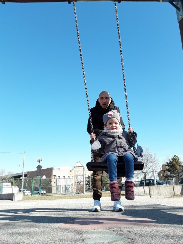Avec ma nièce