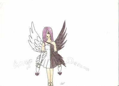 Blog de x dessins concours x page 17 dessins et - Dessin ange demon ...