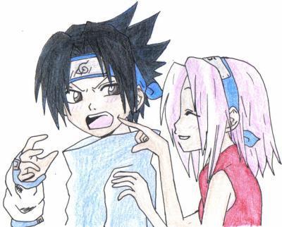 Dessin naruto 8 sasuke et sakura dessins et concours - Dessin naruto et sasuke ...