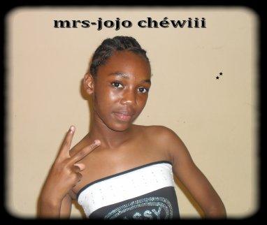 mrs-Jojo ChéWiii C mwAa !!! =) =p