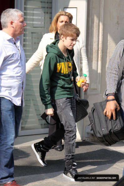 Justin a paris