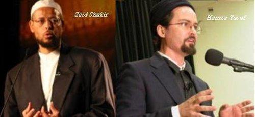 Deux reconvertis: Hamza Yusuf Hanson (Mark Hanson) + Zaid Shakir