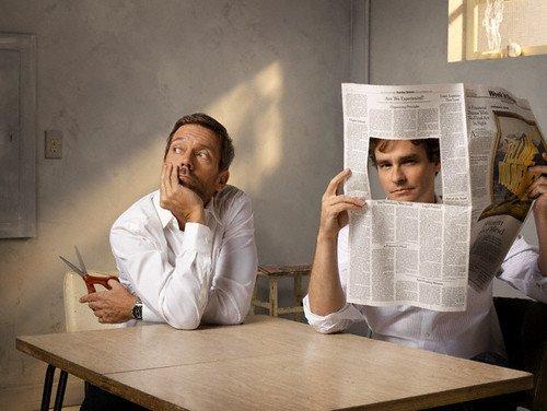 Hugh Laurie & Sean Robert Leonard