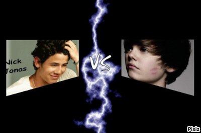 Nick Jonas VS Justin Bieber