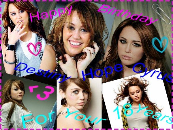 Happy BDay Miley !! ♥