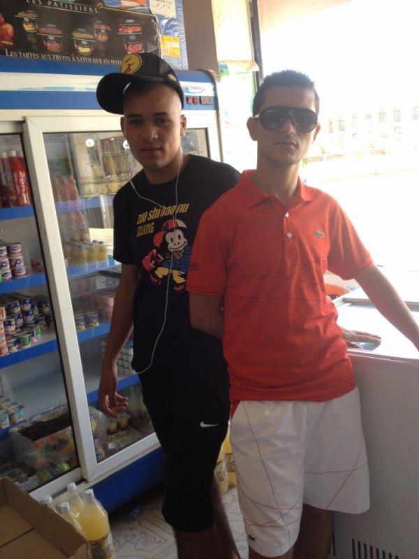 moi  et sahbii no9rr