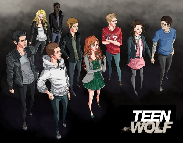 Teen Wolf Version BD ou Déssin Animé - Blog de ...