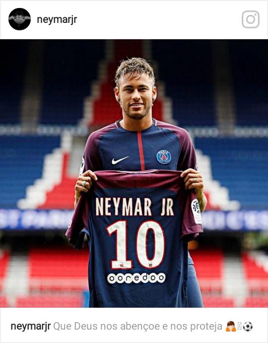 Neymar au Paris Saint Germain
