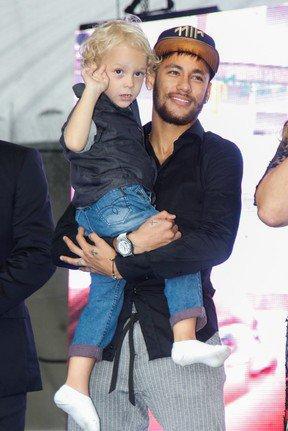 Neymar et son fils
