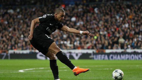 Photos du matchs Réal Madrid contre Paris Saint Germain