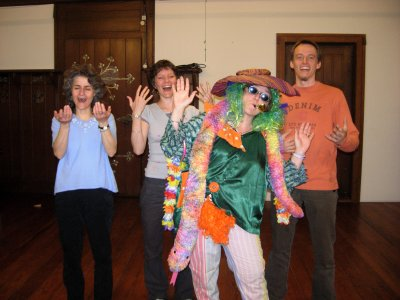 Atelier de Yoga de Rire et final en clown Bienne iiiiii Trop top      1 fois par mois 5 séances dune heure OhOh AhAhAh