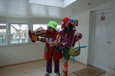 Stage de Clown pleins de couleurs et de Rires Vive Tricouette  Ye