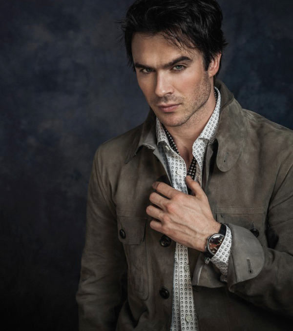. Damon Salvatore  .
