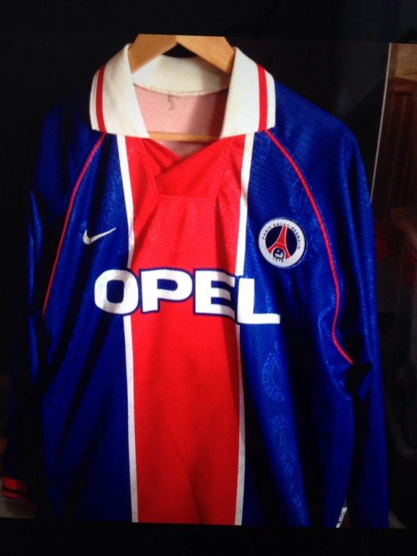 Maillot PSG Juve 1997