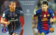 PSG face Barcelona
