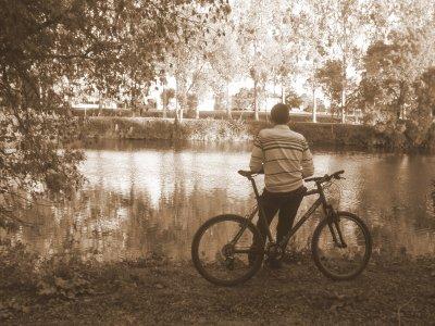 Ma passion : Le vélo mais aussi les photos !
