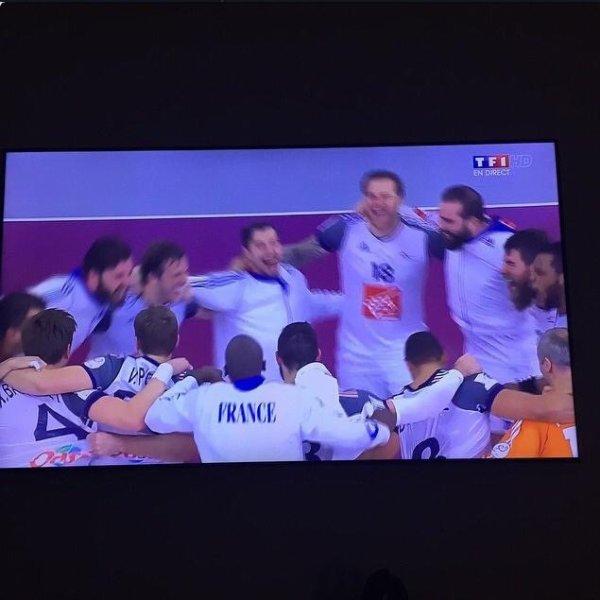 Champions du monde!!! Quelle équipe!! Bravo messieurs! #historique