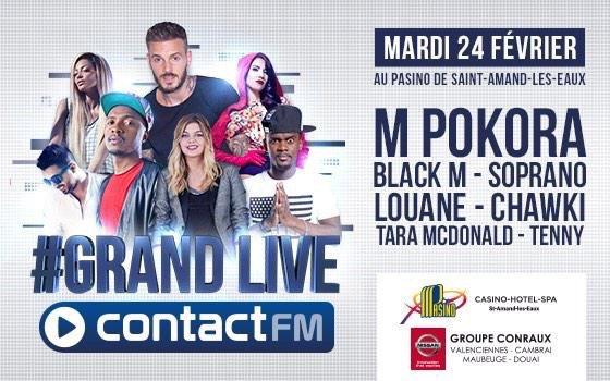 On s'voit là bas! #grandlive #24fevrier #contactfm @ContactFM