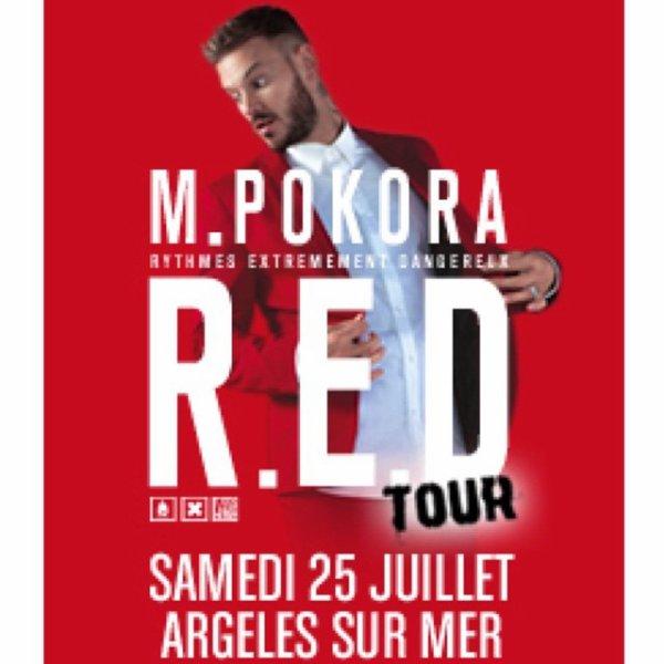 #REDtour la billetterie pour le concert du 25 juillet à Argeles Sur Mer vient d'ouvrir
