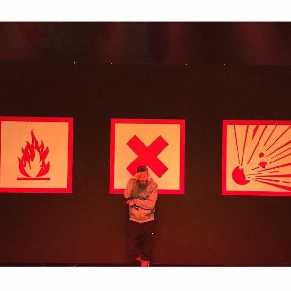 Ça bosse... R.E.D Tour #repetitions #REDtour J-7 avant de venir retourner vos zéniths...