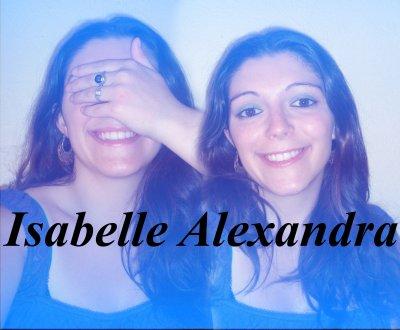 isabelle alexandra qui chante une chanson de Grégory
