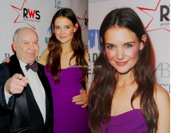 Broadway Dreams Foundation's Champagne And Caroling Gala – 12/10/12 Un top pour katie