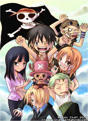 moi mon manga preferé c  one piece!! é vs vs aimai oone piece?
