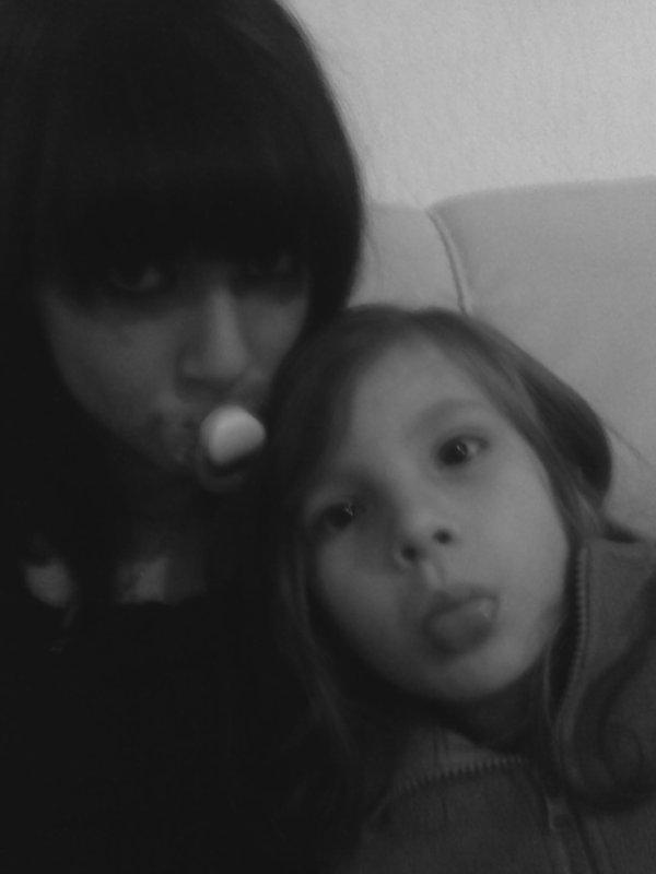 mon bebe & moi ( selena)