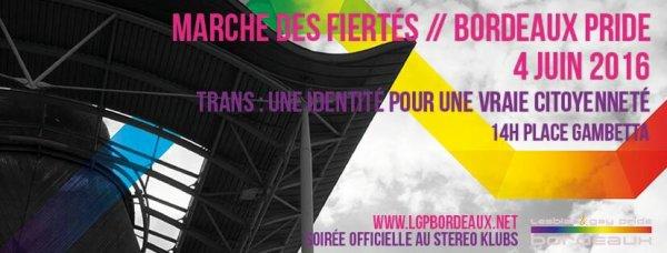 Marche des Fiertés Bordeaux 2016 (Officiel)