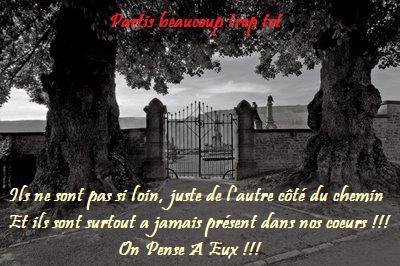 Pour Tous Nos Anges Partis Trop Tot !!!