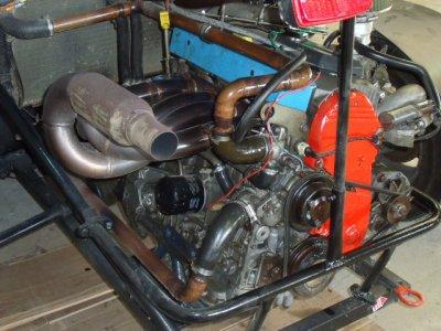 le moteur refait