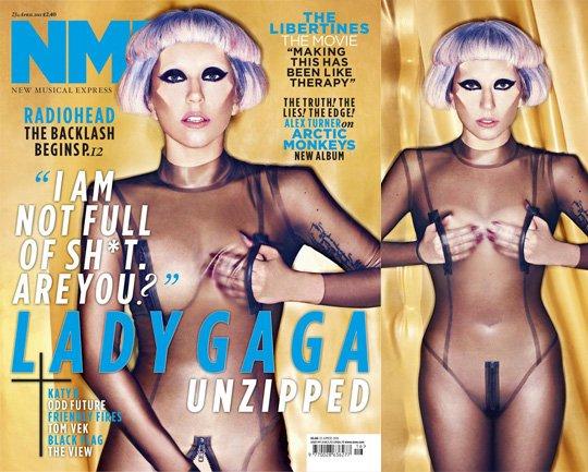 Gaga fait la couverture de nme