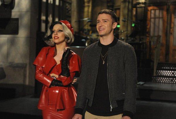 Photo du Jour : Gaga & Justin Timberlake au Saturday night live