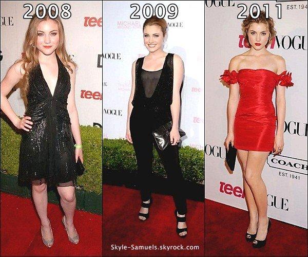 . 26/09 : Skyler était à la 9eme cérémonie Teen Vogue Young Hollywood Party.Un top ! .