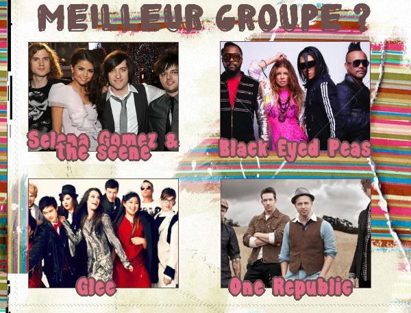 Meilleur Groupe :