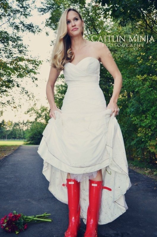 Just Married in Rubber Boots 3