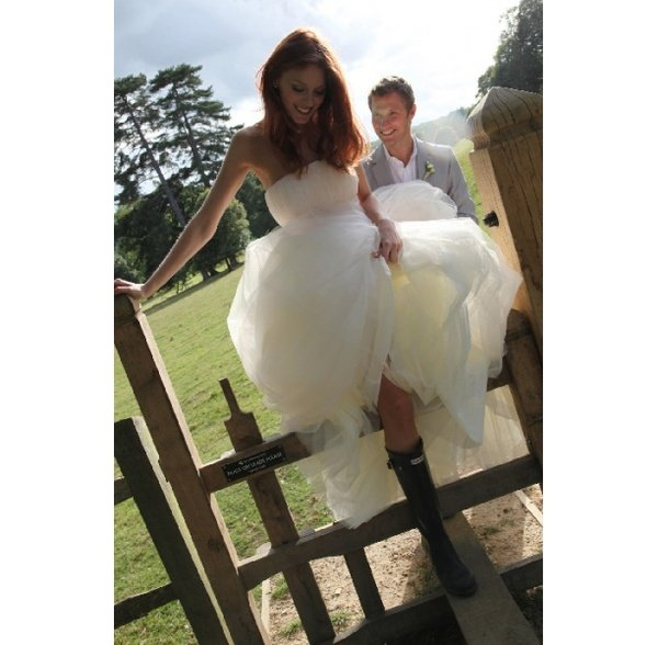 Just Married in Rubber Boots 4