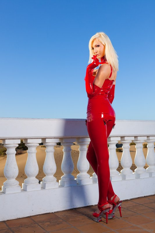 Red Rubber Beauty 1