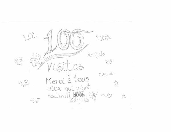 100 VISITES!!!!!!!!!