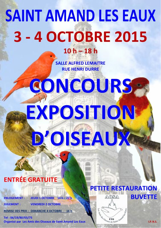 GRANDE EXPO ANNUELLE 2015
