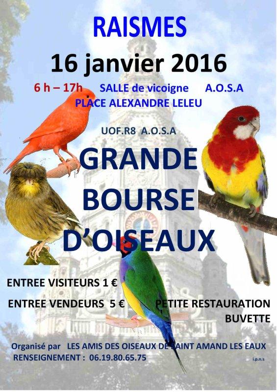 GRANDE BOURSE D'OISEAUX
