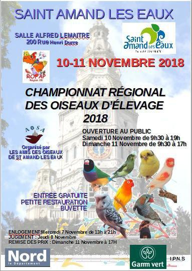 CHAMPIONNAT REGIONNAL  UOF ROFAP  2018