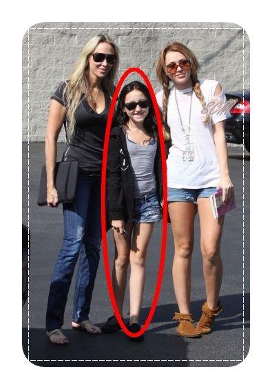 Les filles Cyrus sont de sortie !
