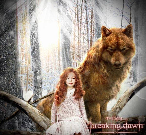 Renesmee Carlie Cullen alias Mackenzie Foy