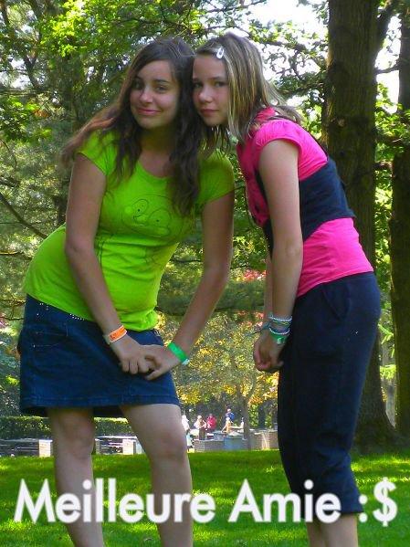 Une meilleure amie ses une soeur que la vie a oublié de nous donner .. ♥!