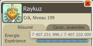 Raykuz Up 200 !